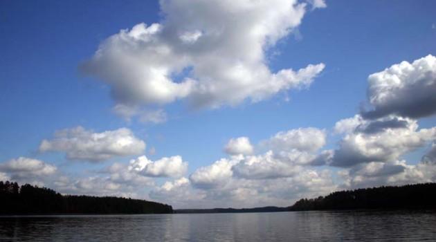 Jeziora w pobliżu gospodarstwa
